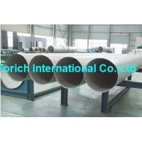 Wholesale A358/A358M High Temperature Inconel Welded Stainless Steel Tube / Electric Fusion Welded Pipe from china suppliers