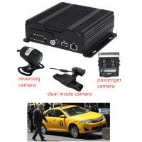 Wholesale AHD 4CH 1080P taxi  SD Card Mobile DVR with 3G / 4G GPS WIFI  live view and GPS from china suppliers