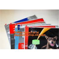 Quality Zip lock bags, zipper, Metal Zipper BAG, Metal slider BAGS, metal zip BAG, metal grip BAGS for sale