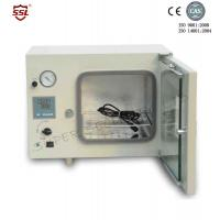 Wholesale White Small Bench Top Vacuum Drying Oven For Agriculture , 500W 20L from china suppliers