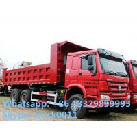 Wholesale SINO TRUK HOWO RHD 30ton 371hp dump truck for sale, HOWO brand 6*4 30tons  sand and coal dump tipper truck from china suppliers