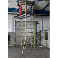 Wholesale Multi - Purpose Indoor / Outdoor Alloy Mobile Tower Scaffold For Inspecting Roof from china suppliers
