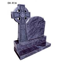 Buy cheap Bahama blue granite tombstone from wholesalers