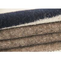 Wholesale Four - Color Polyster Jacquard Sheep Shearling Striped Wool Fabric With Good Handle from china suppliers
