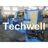 Wholesale Active Uncoiling / 10 Ton Hydraulic Decoiler Curving Machine With Coil Car TW-DECOILER from china suppliers