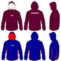 Wholesale Full Front Zipper Unisex Children 4 - 16 Embroidery Printing Customize Hooded Sweatshirts from china suppliers