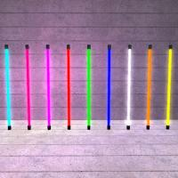 Wholesale Pink / Orange / Purple Straight Water Resistant Neon Fluorescent Light Tubes 220V ~ 240V from china suppliers