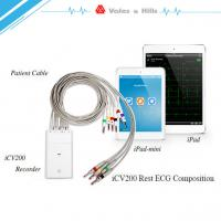 Wholesale High Definition IOS IPad Handheld Ecg Machine With Wifi Bluetooth Transfer Data from china suppliers