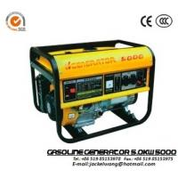 Wholesale GJ5000 5.0KW 50/60 Generator 22L,182F Engine Recoil Starter Gasoline Powered Generator from china suppliers