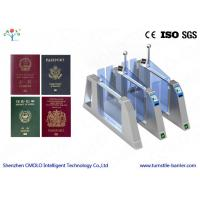 Wholesale Auto Pedestrian Barrier Gate Turnstile Security Products With Id Readers And Passport from china suppliers