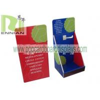 Quality Cardboard Counter Displays With Hooks Corrugated Point Of Purchase Displays ENCD077 for sale