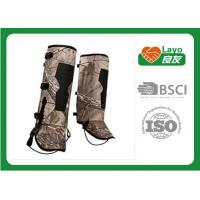 Wholesale Professional Outdoor Waterproof Leg Gaiters For Hiking Boots L-262 from china suppliers