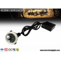 Wholesale GL5-A LED Mining Light With 6.8Ah Li-Ion Battery , 4000lux High Brightness Mining Headlamp from china suppliers