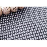 Wholesale Black / Charcoal Plain Weave Pet Proof Window Screen 14x16 Mesh from china suppliers