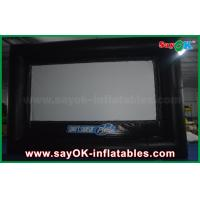 Wholesale Outdoor Black and White Inflatable Projector Movie Screen Oxford Cloth from china suppliers