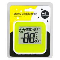 Wholesale Mini Digital LCD Home Thermometer Hygrometer Indoor Humidity Temperature Meter Centigrade/Fahrenheit With Level Icon from china suppliers