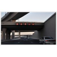 Quality Outdoor Digital Electronic LED Highway Signs With Large View Angle for sale