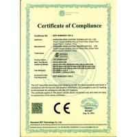 Shenzhen Ewin Lighting Technology CO., Limited Certifications