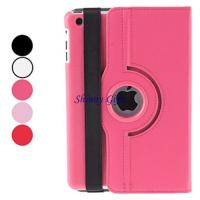Wholesale Litchi Grain 360 Degree Rotatable PU Leather Case for iPad mini SI-2013220027 from china suppliers
