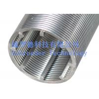 Wholesale Stainless steel johnson Well screen Johnson pipe 200 micron Filter Rating from china suppliers
