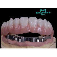 Wholesale High Retention Bar Attachment Metal Based Dentures For Comestic Defects Implants from china suppliers