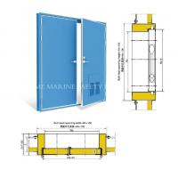 Wholesale Marine Quick Action Single Leaf  Access Door Marine A60 Fireproof Watertight Door from china suppliers