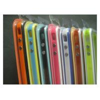 Buy cheap TPU green, orange  Apple Iphone Accessories bumpers case for Iphone4 from wholesalers