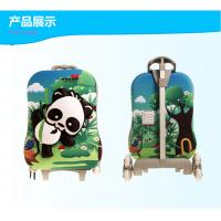 Wholesale Animal Print Kids Trolley Luggage / Rolling Suitcase Luggage Custom from china suppliers