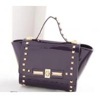 Wholesale hot-sale American style PU bags with rivets in small size from china suppliers