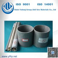 Quality FRP Extrusion Fence Post Round Tubing For Handrail / Fencing System for sale