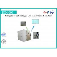 Buy cheap Stepping Type Dust Test Chamber , Dust Testing Equipment 380V 50HZ from wholesalers