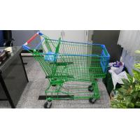 Wholesale Supermaket 150L Wire Shopping Trolley With Advertisement Board from china suppliers