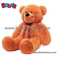 Buy cheap Big Plush Brown Bear Doll Soft Toy as Chirdren Day Gift from wholesalers