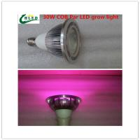 Quality 30W COB Led  Plant growth lamp Par Plant lamp Flowers fill light E27 Plant growth light Full spectrum 380-840nm for sale