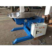 Wholesale Manual Q235 Elevating Pipe Welding Positioners 2 Tons Capacity And 1200mm Table Diameter from china suppliers