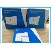 Wholesale 5CALS Windows Server 2012 Standard 64bit DVD ROM OEM Key 100% Activated from china suppliers