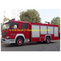 Wholesale HOWO Commercial Fire Fighting Trucks 7m3 Water Tank Foam 5 to 50T Capacity from china suppliers