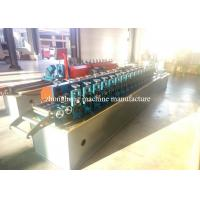 Wholesale Window Box Metal Section Galvanized steel Roll Forming Machine For 1.2mm SS from china suppliers