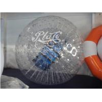 Wholesale 1.0mm TPU Clear Inflatable Zorb Ball , Grassplot Inflatable Human Hamster Ball from china suppliers