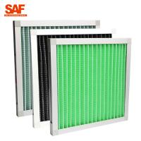 Wholesale Minipleat pre-filter with aluminium frame  for primary filtration of air-conditioning system. from china suppliers