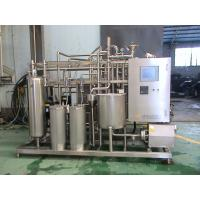Wholesale Industrial Yoghurt  / Ice Cream Pasteurizer 10 T / H With 52 M2 Heat Exchanging Area from china suppliers