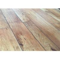 Maple Floating Distressed Laminate Flooring  with V groove CE TUV SGS