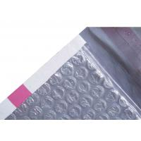 Quality Pink Strip Poly Bubble Mailers , Customized Decorative Poly Mailing Bags for sale