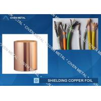 Wholesale Roll Size ED Copper Foil For Shielding, Made Of Red Copper from china suppliers