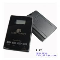 Wholesale cheap L8 black Tour Guide Audio System Transmitter And Receiver For Team Traveling from china suppliers