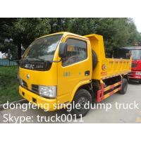Wholesale Dongfeng single row dump garbage truck for sale from china suppliers