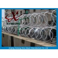 Wholesale Hot-Dipped Galvanized Razor Barbed Wire with BTO-11 BTO-22 / Bazor Barbed from china suppliers