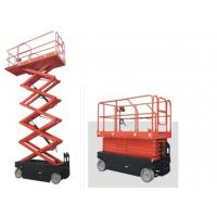 Wholesale Custom scissor hydraulic lift platform with Car - carrying for 6m - 16m working height from china suppliers