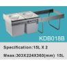 Buy cheap Trash Bin|Kitchen Bin|Cabinet Bin|Garbage Bin|Waste Bin KDB018B from wholesalers