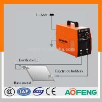 Buy cheap Iron plate design new inverter DC MMA IGBT welding machine--100A/120A/140A/160A/180A/200A small current and portable from wholesalers
